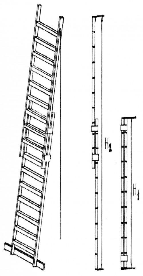 выдвигающаяся лестница