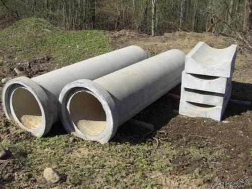 Трубы бетонные для канализации