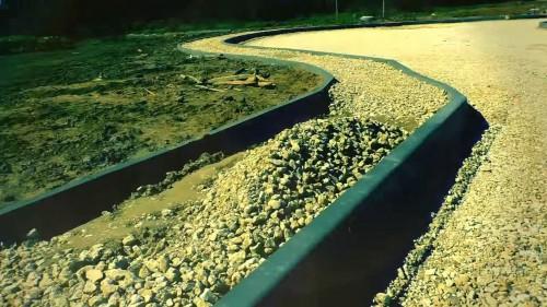 сборный дорожной бетонный бордюр
