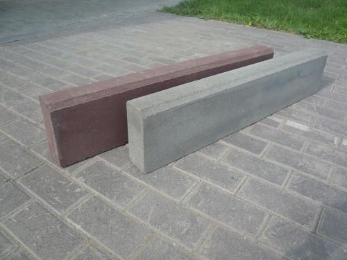 Бордюр тротуарный вибропрессованный 1000х200х80