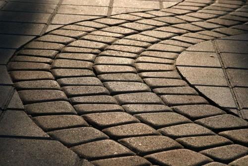 Тротуарная плитка под старину