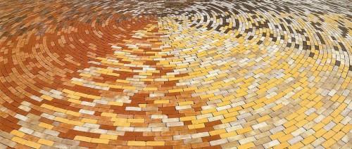 Цветная тротуарная плитка