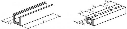 Примеры расчета площади просвета в лотках