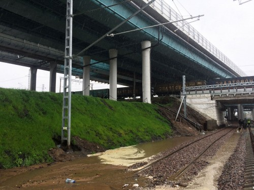отвод воды с моста