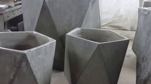вазоны для цветов из бетона