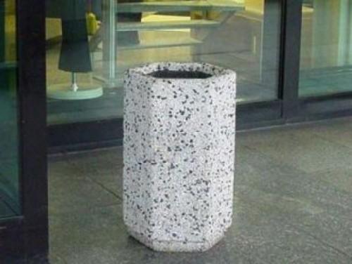 щестигранная бетонная урна