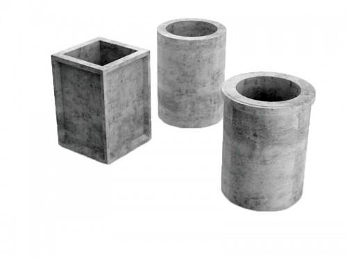 3 бетонные урны