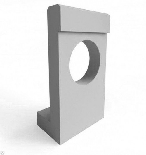 Портальная стенка для звеньев круглых труб
